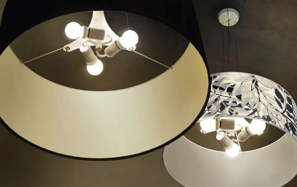 Slider Innermost Ceiling mounted in shade