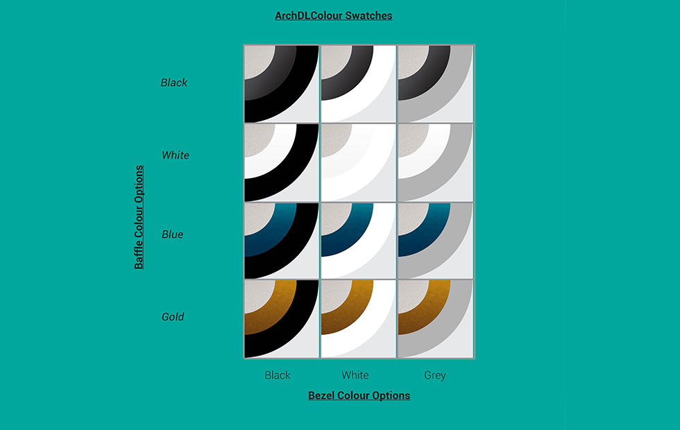 ArchDL Colour Swatches, Pendant Lighting