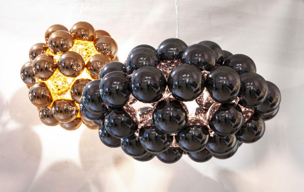 Copper and Octo Gunmetal Beads, Pendants Lighting Innermost