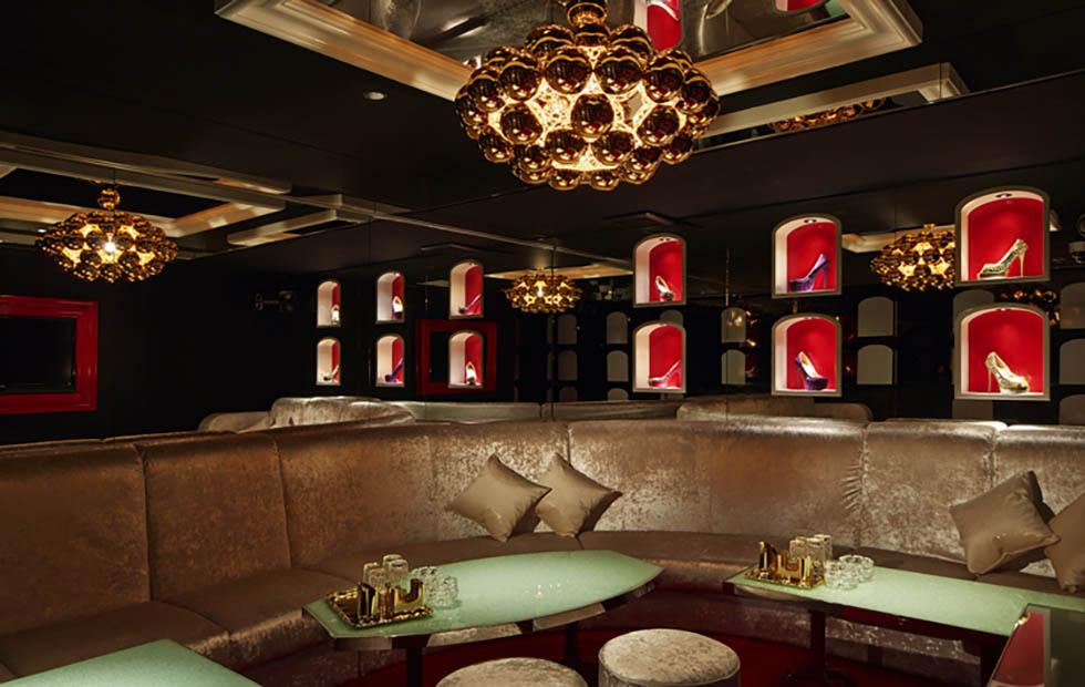 Beads in Love vs Money Restaurant, Pendant Lighting