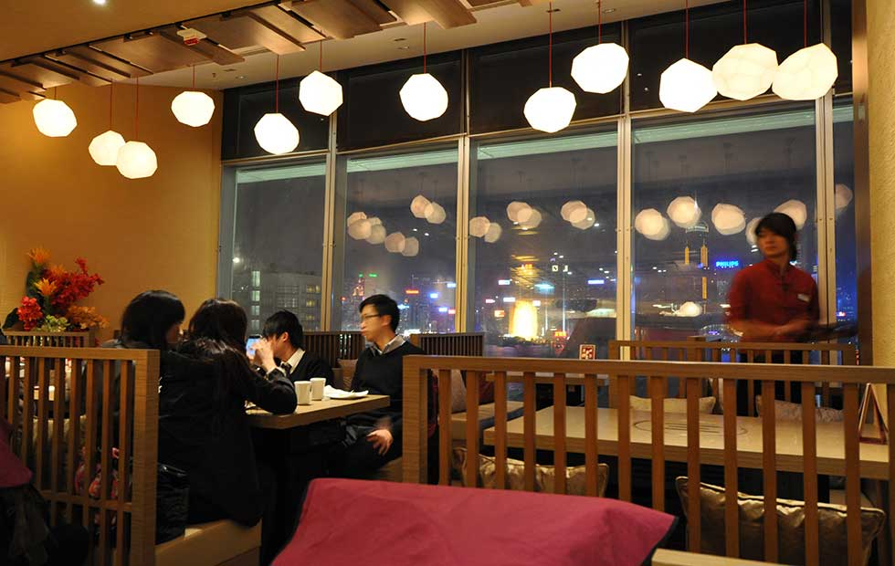 Asteroid Pendants in KimChee Restaurant