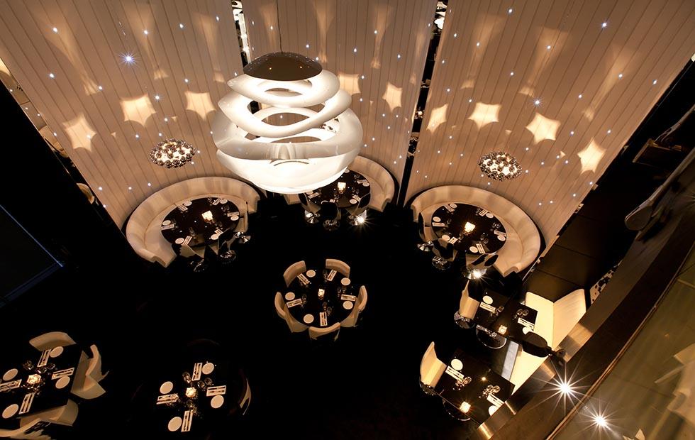 Slider Buckle Contemporary Pendant Lights Installations, Innermost