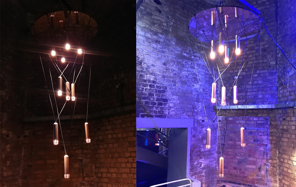 Brixton Cluster at Darc Night 2018 Awards, Pendant Lighting