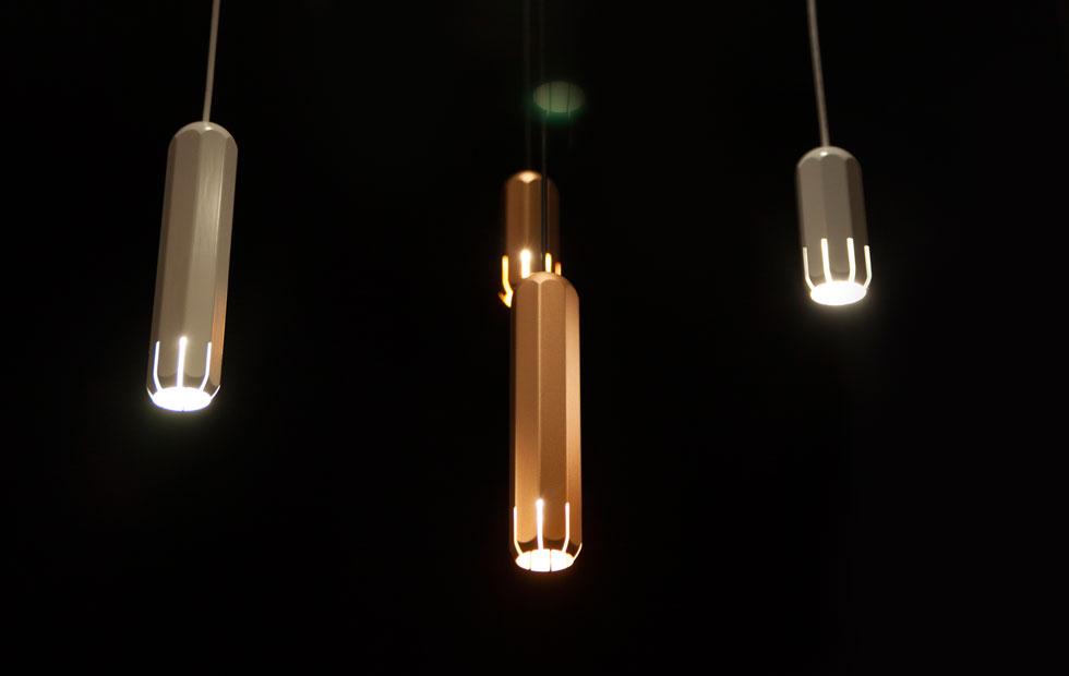 Brixton Spot collection Slider, Pendant lights, Innermost