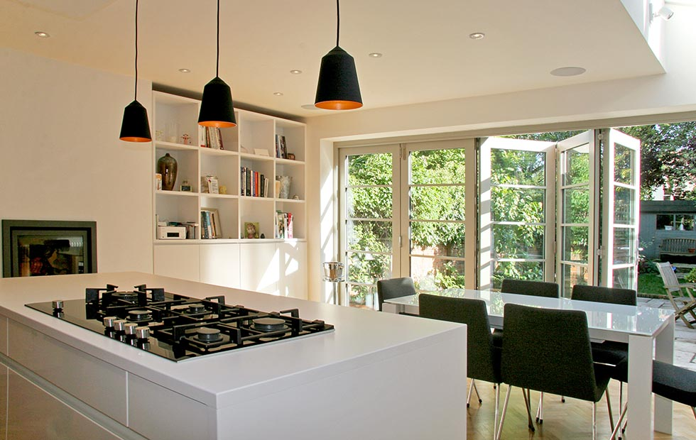 Slider Circus Black Pendant light, Innermost Small Fitting Lights at a Private Residence, Oxford UK