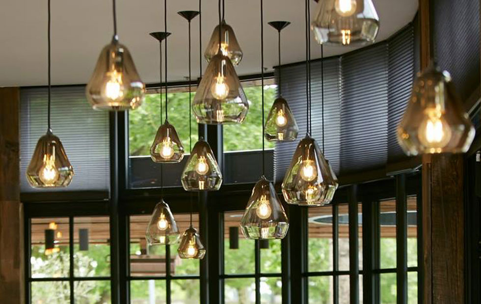 Slider Core Glass Pendant at brasserie Fou D