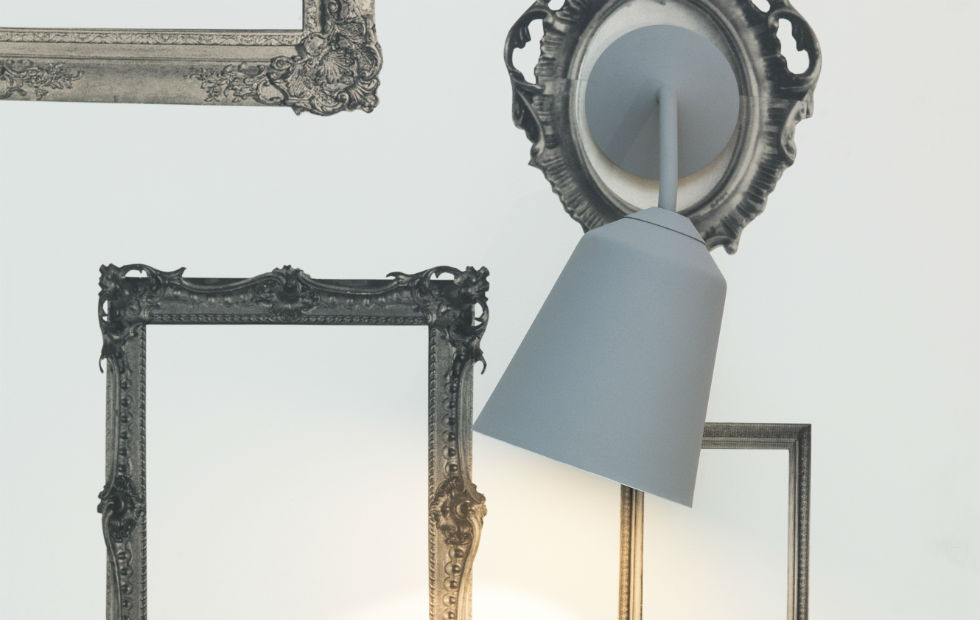 Slider Inermost Circus Wall Light in Grey Shade