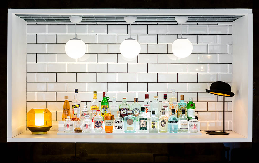 Slider Drop 20 at the Innermost Bar for the London Design Festival LDF, Oxo Tower