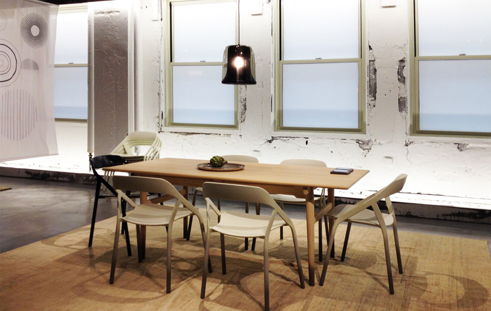 Slider Innermost Medium Dub Pendants at Neocon Steelcase