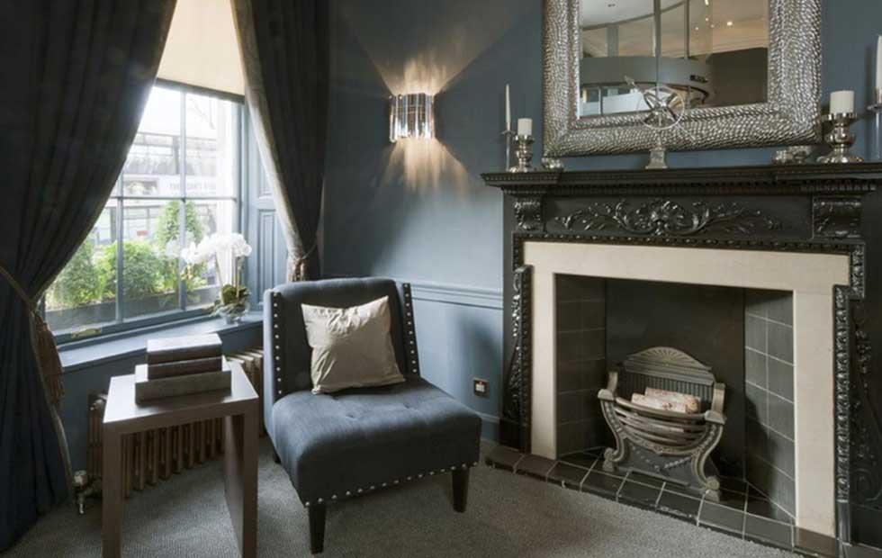 Slider Facet at Roxburghe Hotel Edinburgh, UK