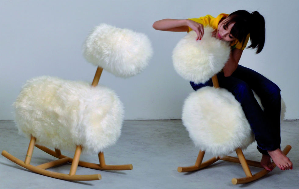 Slider Innermost HiHo, Tactile sheepskin