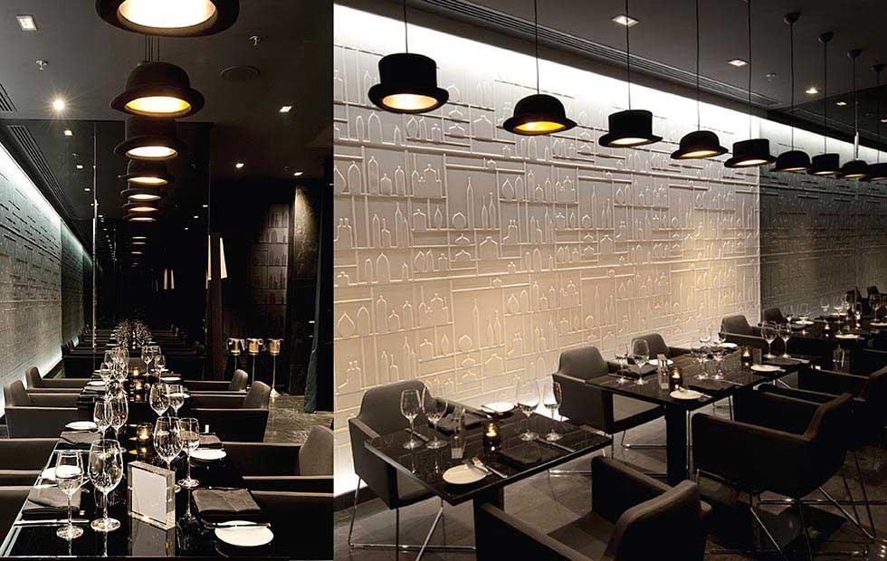 Slider Jeeves Wooster, Adding Soft Light at Ritz Carlton Restaurant