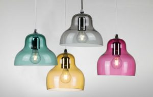 Innermost Jelly pendant family of different hues and sizes