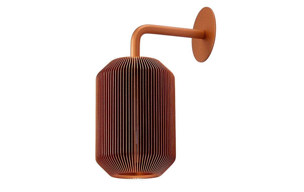 Innermost Joseph Bedside Lamp in copper