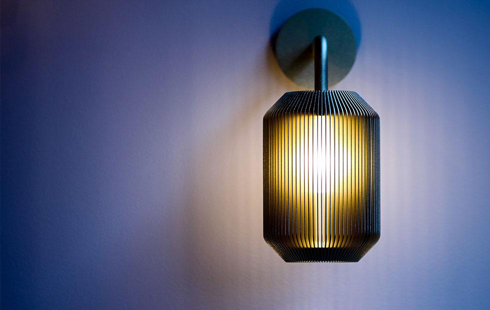 Innermost Joseph Bedside Lamp in grey