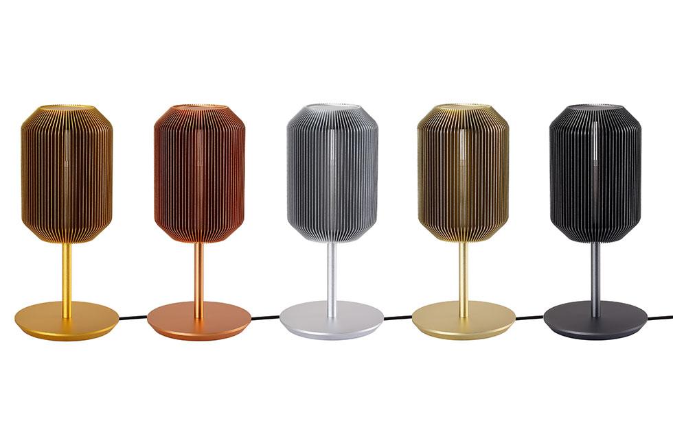 Slider Innermost Joseph Table Lamp in all Colours