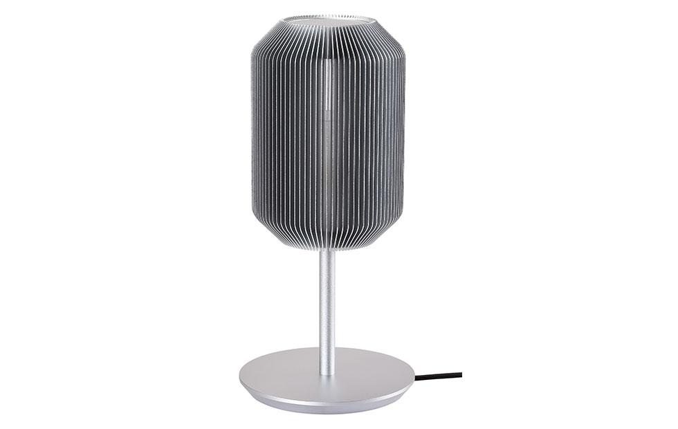 Slider Innermost Joseph Table Lamp in Silver Colour