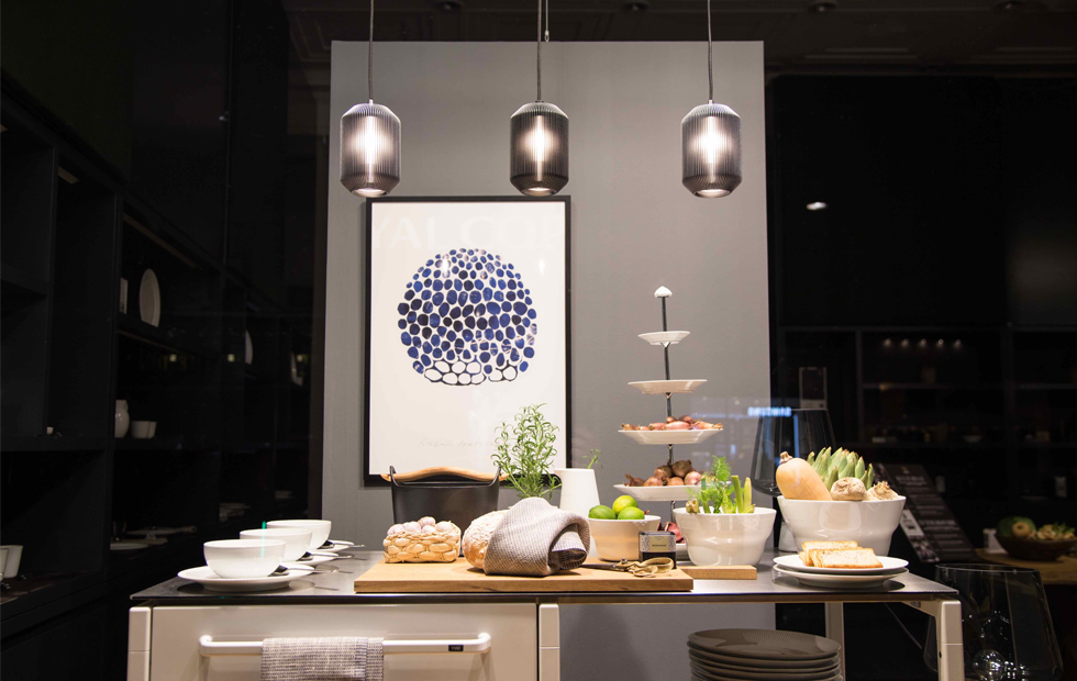 Slider Joseph Pendants Royal Copenhagen window, Innermost