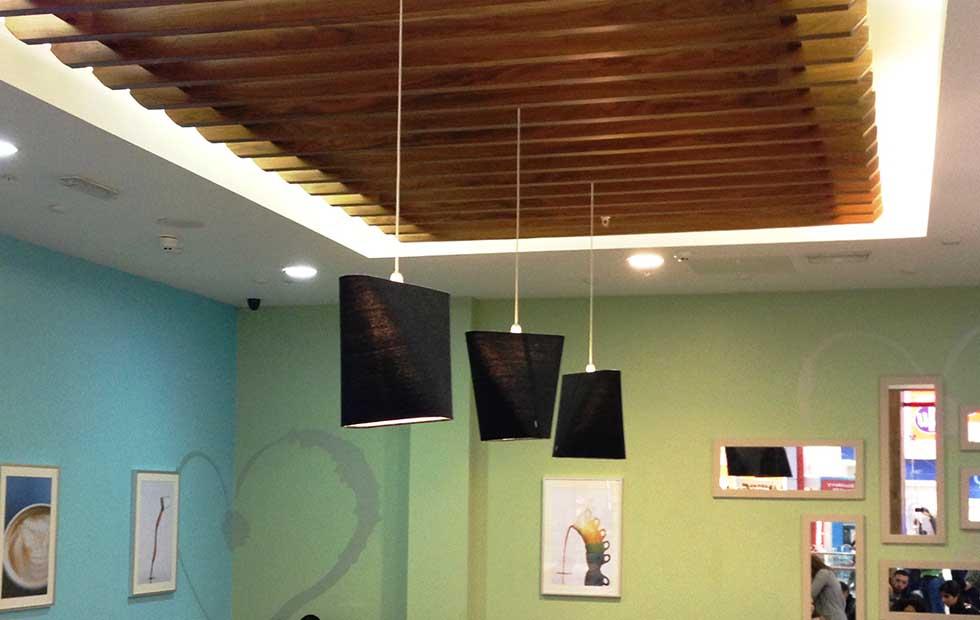 Slider Innermost MnM at Love Coffee, Westfields, London