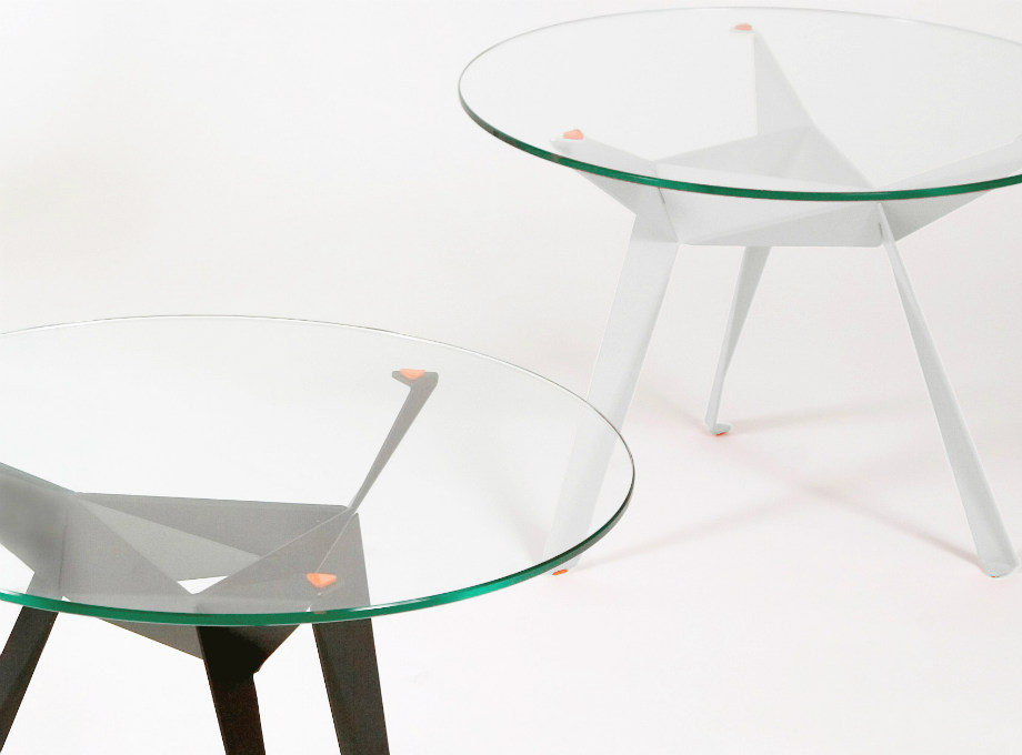 Slider Innermost Origami Dining and Side Tables