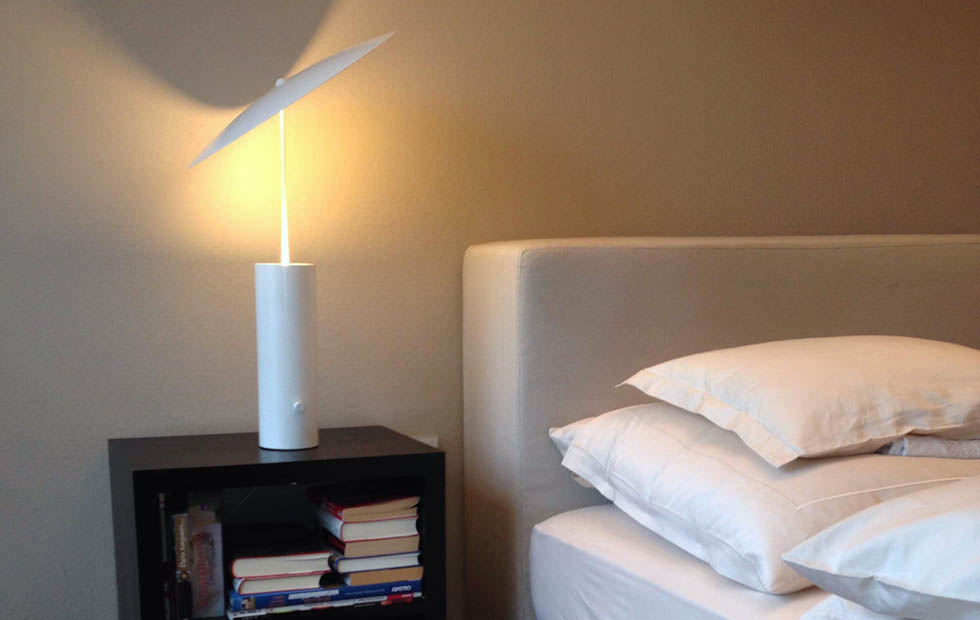 Slider Innermost Parasol as a Bedside Light