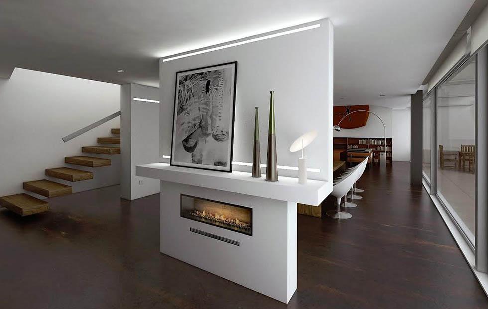 Slider Parasol at living room, Innermost Pendants