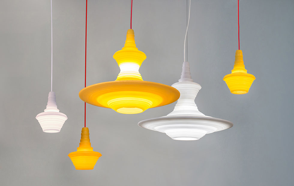 Slider Stupa family, Innermost Pendant Lights