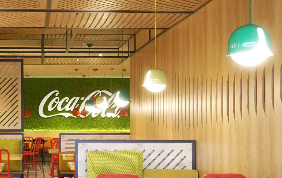 Slider Innermost Snowdrop at the Coca-Cola Offices, Madrid, Spain