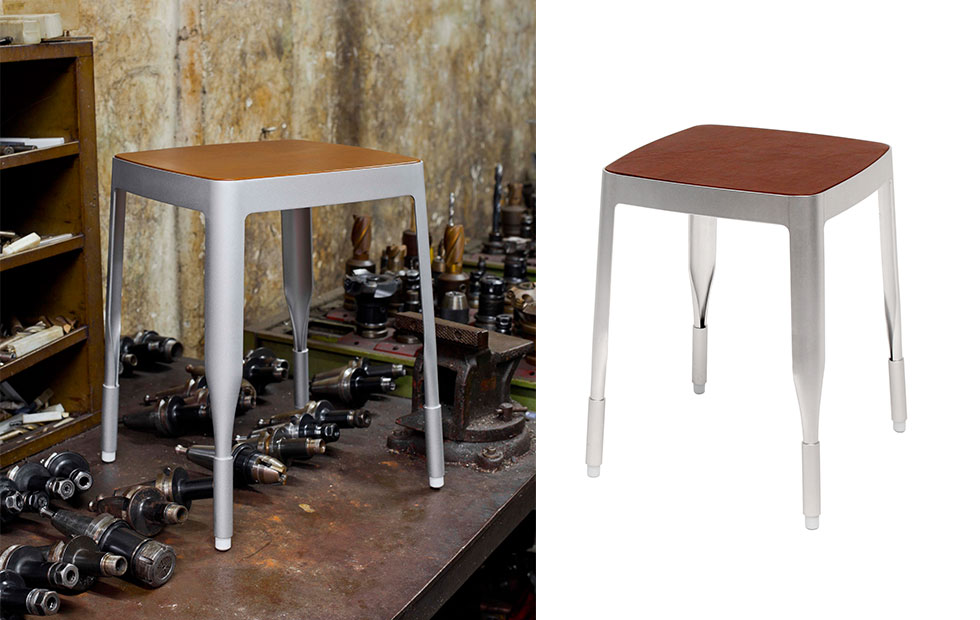 Slider Innermost Stool 4a silver options