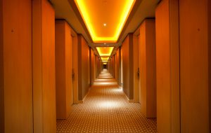 Slider Jiahua Hotel, Corridor Uplighting provided by Cabled, Innermost
