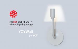 Slider YOYWall RedDot Award