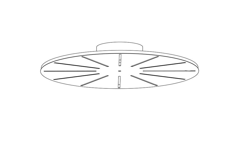 Slider Innermost Radiate Circular 30, Innermost product