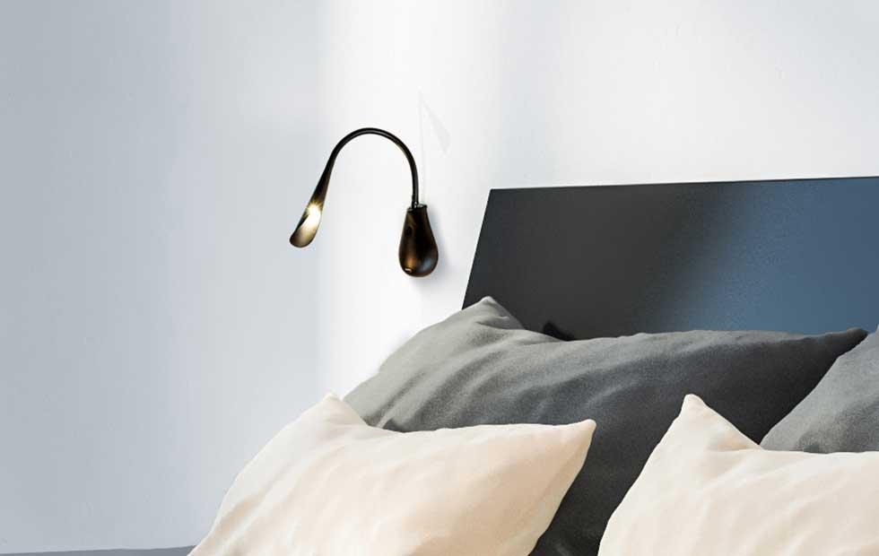 Slider Cobra Nude 45, Innermost Pendant Bedside light