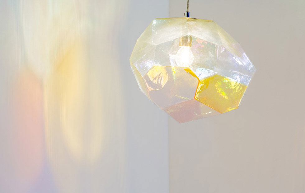 Beautiful Projections Of Asteroid Glass Pendant lighting