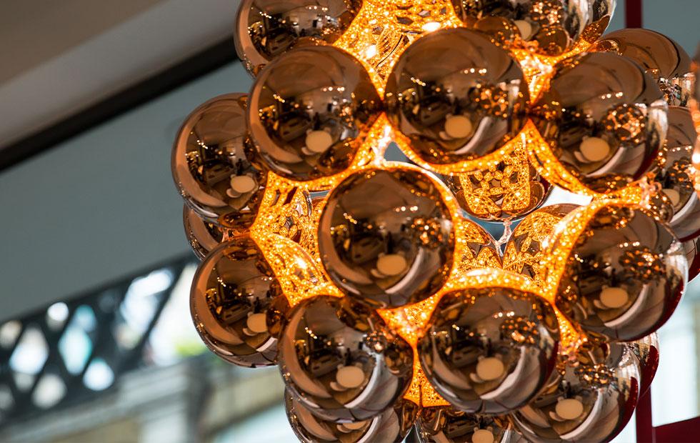 winnie lui beads on penta in copper