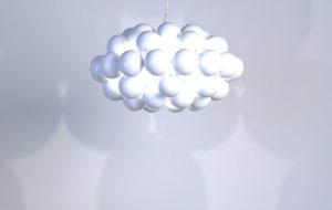 White Octo Beads Pendants