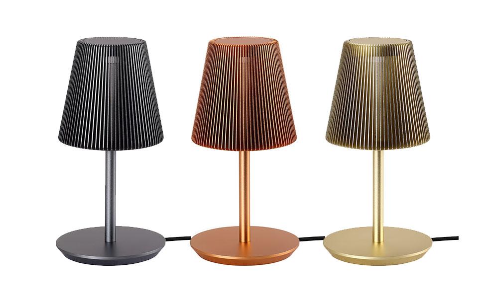 bramah table lamp colour options
