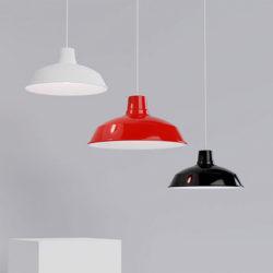 foundry aluminium lamp shade family
