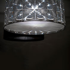 lighthouse lampshade with diffuser