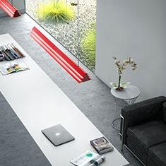 gable red in studio office 1