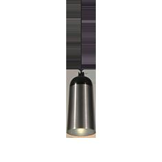 glaze pendant light in charcoal black
