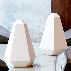 portland plaster pendant light white