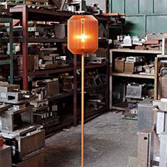 joseph floor lamp copper in factory