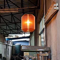joseph large pendant lamp copper in factory