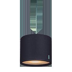 kobe dark grey lampshade