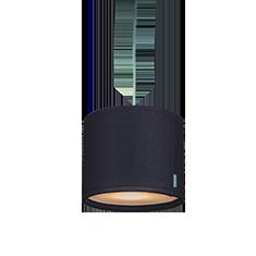 kobe black lampshade cutout