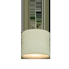 kobe natural lampshade cutout