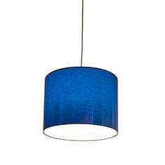 metallic blue 33 lampshade
