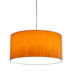 metallic orange 60 lampshade
