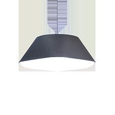 rd2Sq dark grey pendant shade